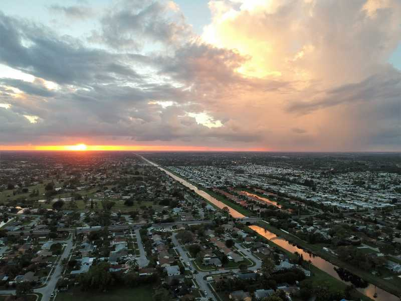 Drone Photo Boynton Beach FL