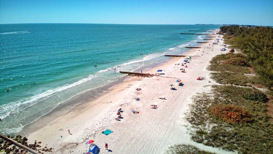 Drone Photo Bradenton Beach FL