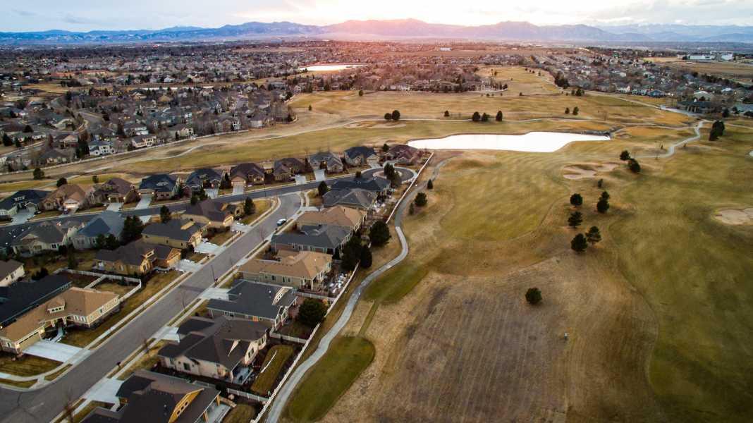 Drone Photo Broomfield CO