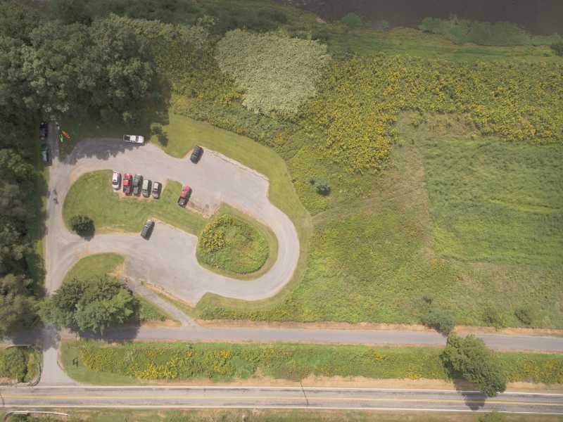 Drone Photo Brown Township PA