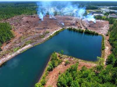 Drone Photo Brunswick GA