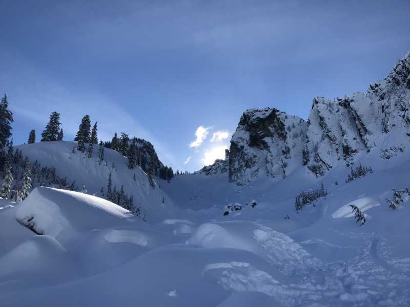 Drone Photo Bryant Peak Wa