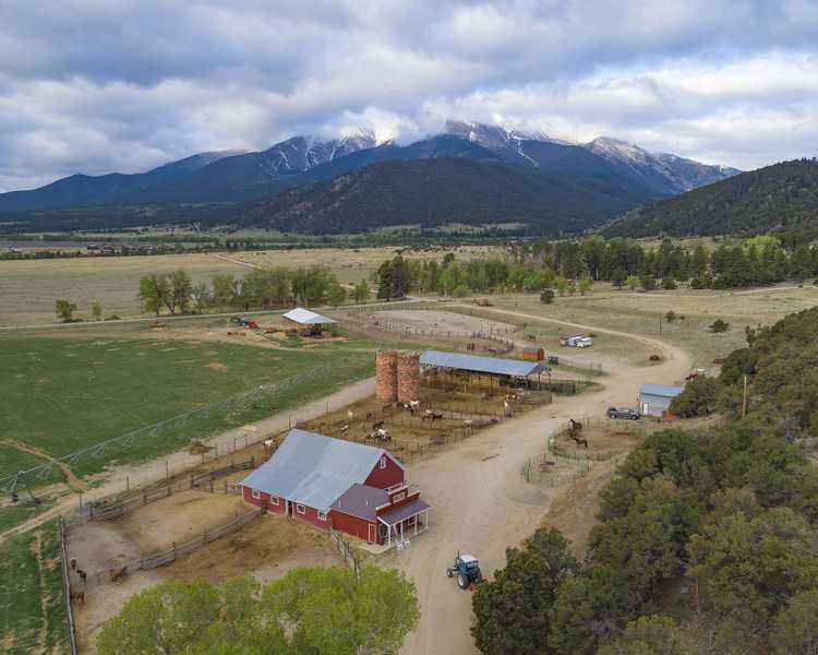 Drone Photo Buena Vista CO