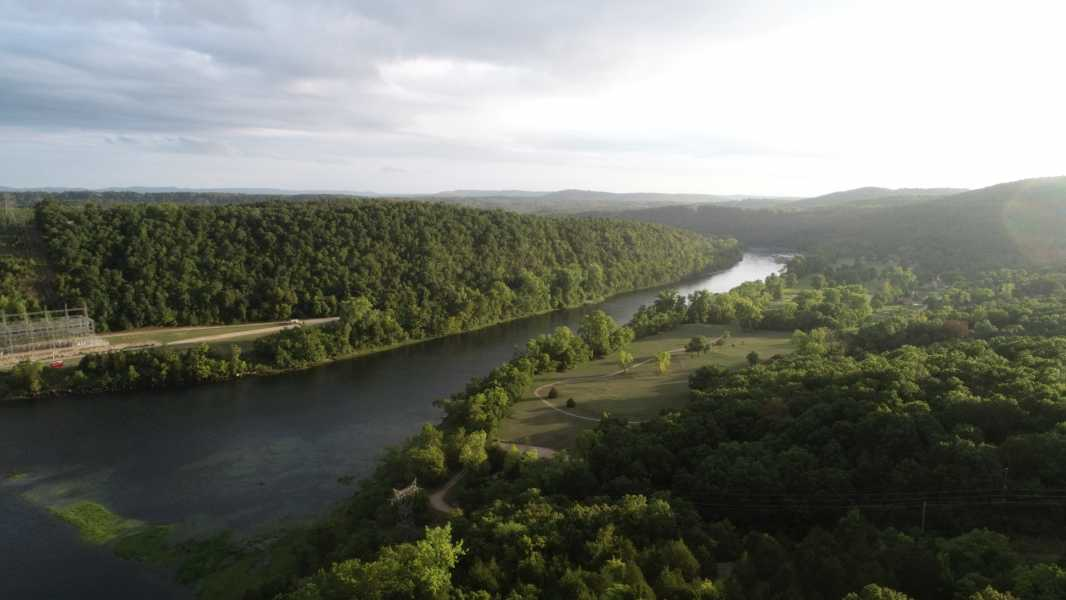 Drone Photo Bull Shoals AR