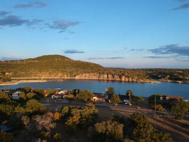 Drone Photo Burnet TX
