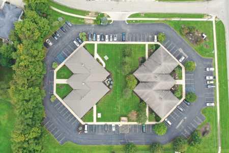 Drone Photo Byron Center MI