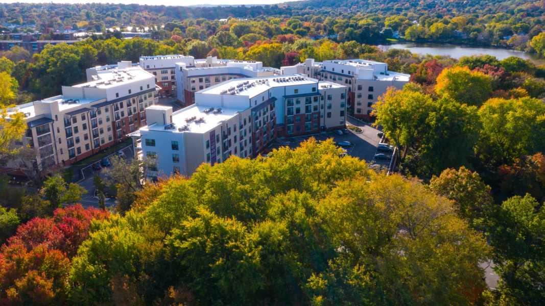 Drone Photo Cambridge MA