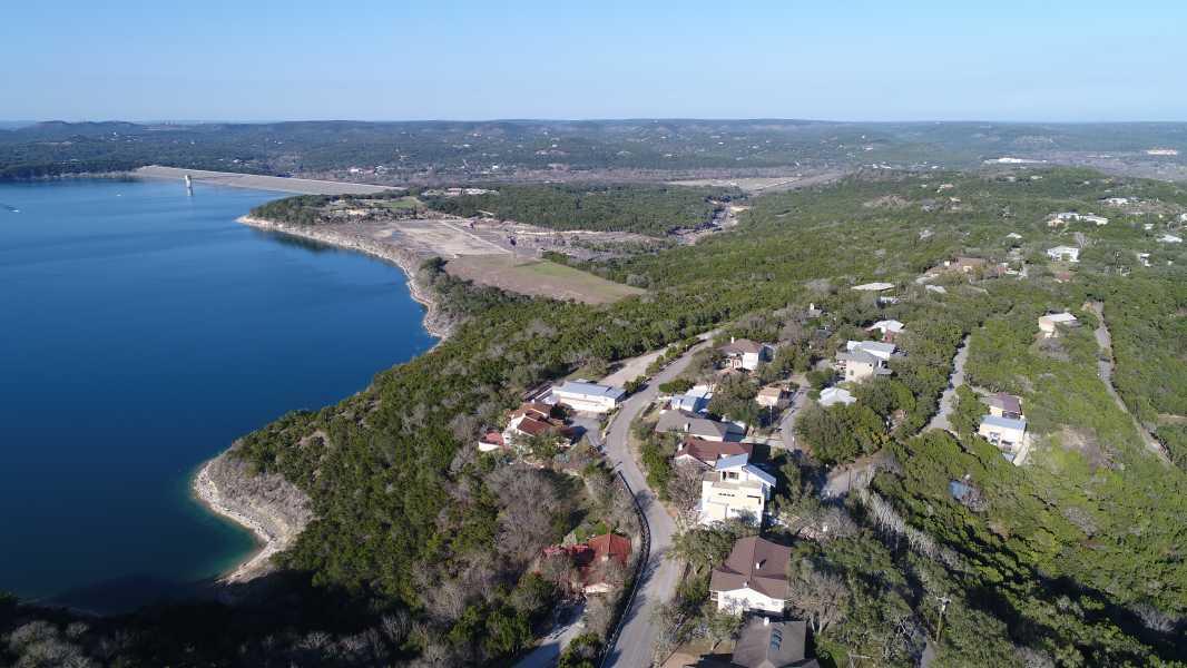 Drone Photo Canyon Lake TX