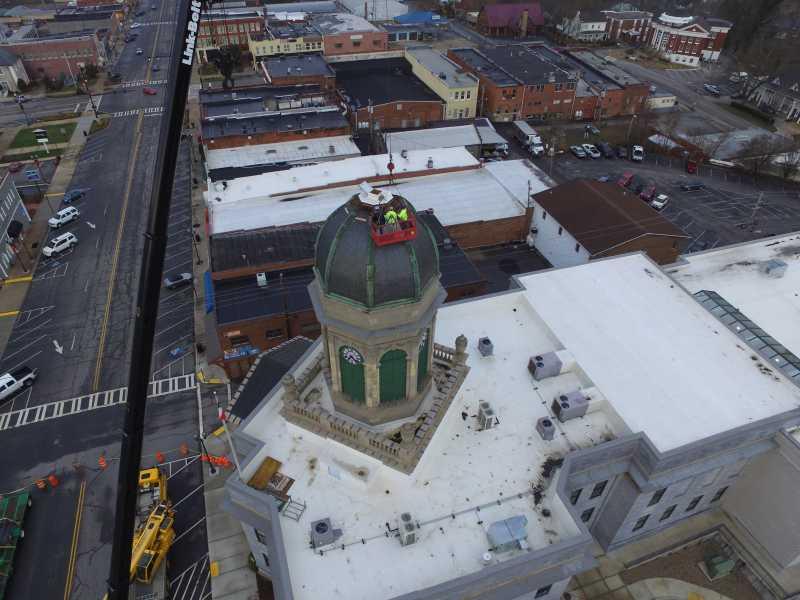 Drone Photo Cashiers NC
