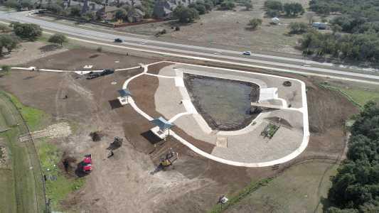 Drone Photo Cedar Park TX
