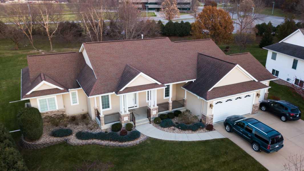 Drone Photo Cedar Rapids IA