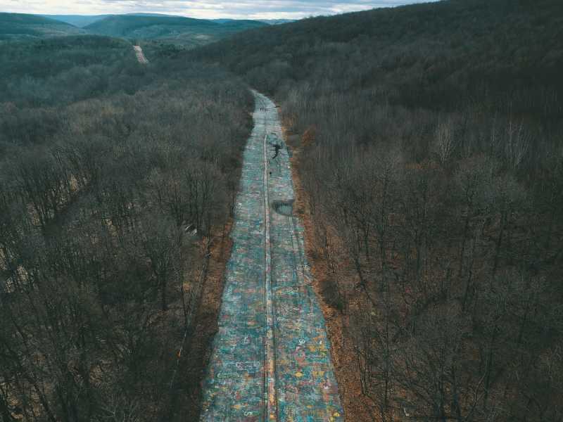 Drone Photo Centralia PA