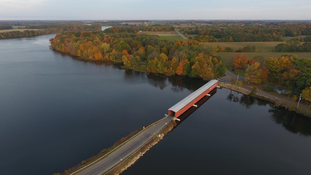 Drone Photo Centreville MI