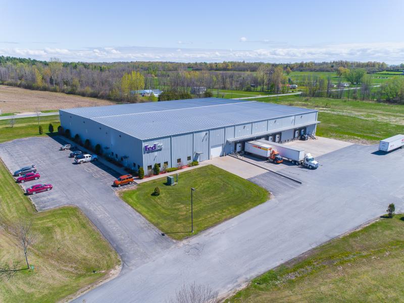 Drone Photo Champlain NY