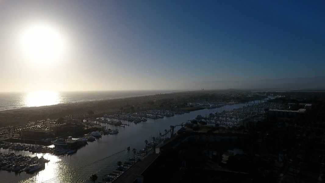 Drone Photo Channel Islands Beach CA