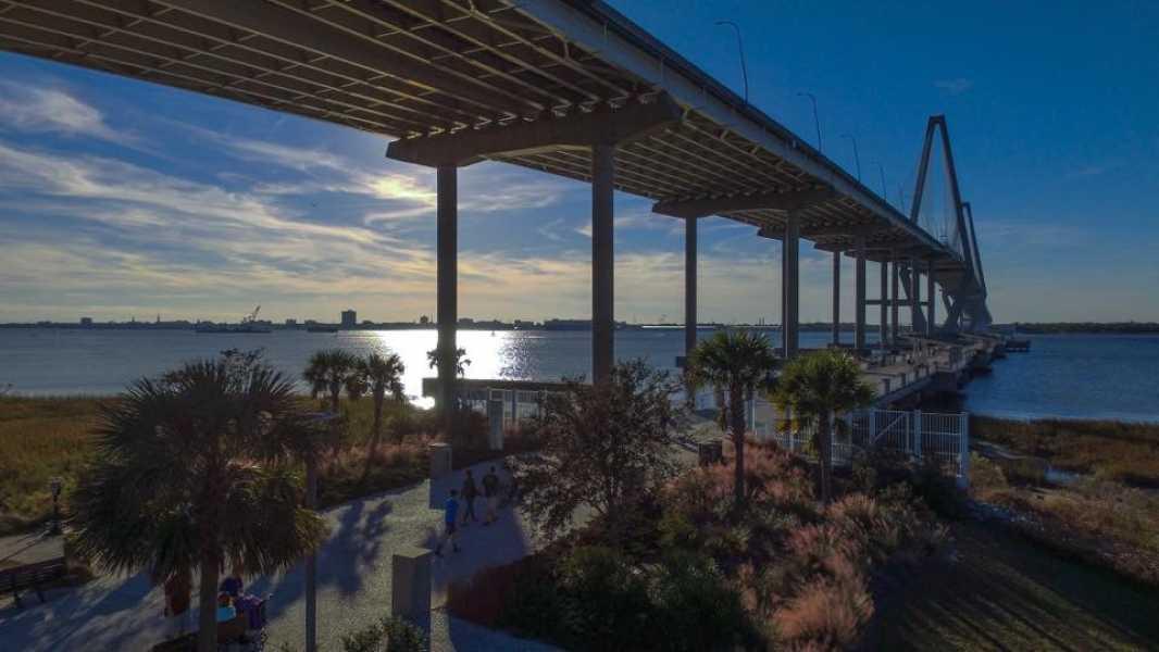 Drone Photo Charleston SC