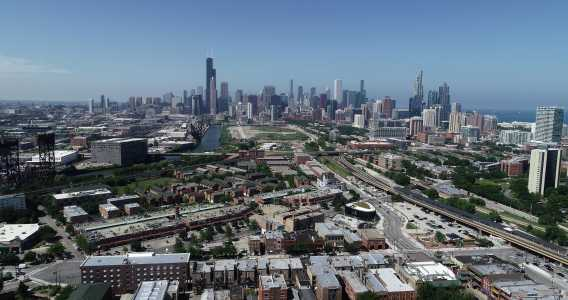 Drone Photo Chicago IL
