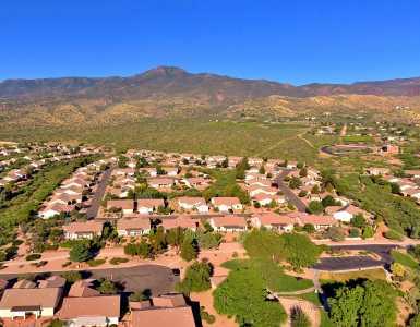 Drone Photo Clarkdale AZ