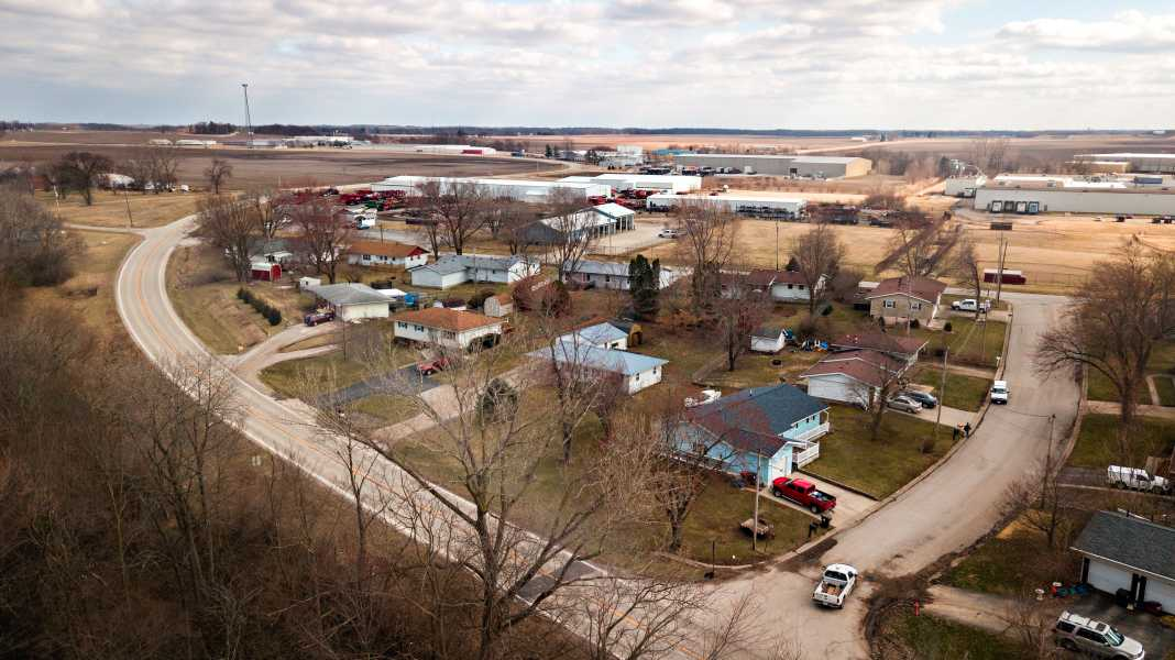 Drone Photo Clinton IL