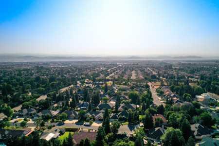 Drone Photo Clovis CA