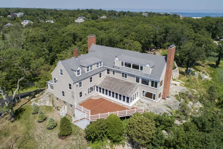 Drone Photo Cohasset MA