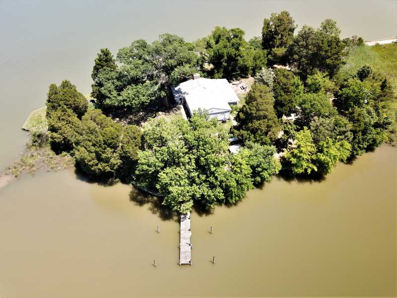 Drone Photo Colonial Beach VA