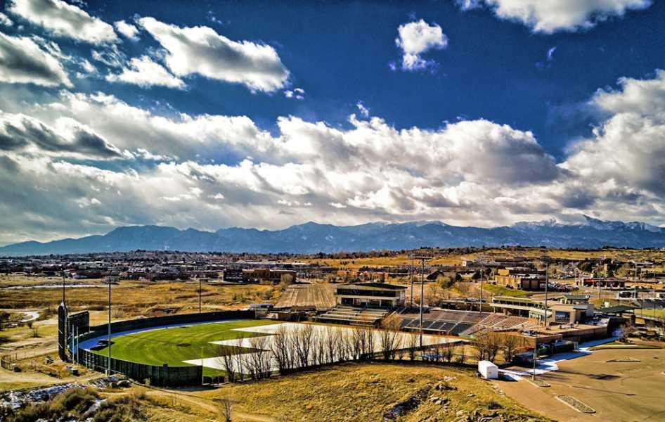 Drone Photo Colorado Springs CO