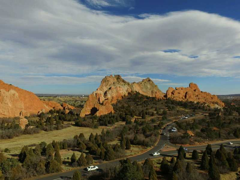 Drone Photo Colorado Springs CO