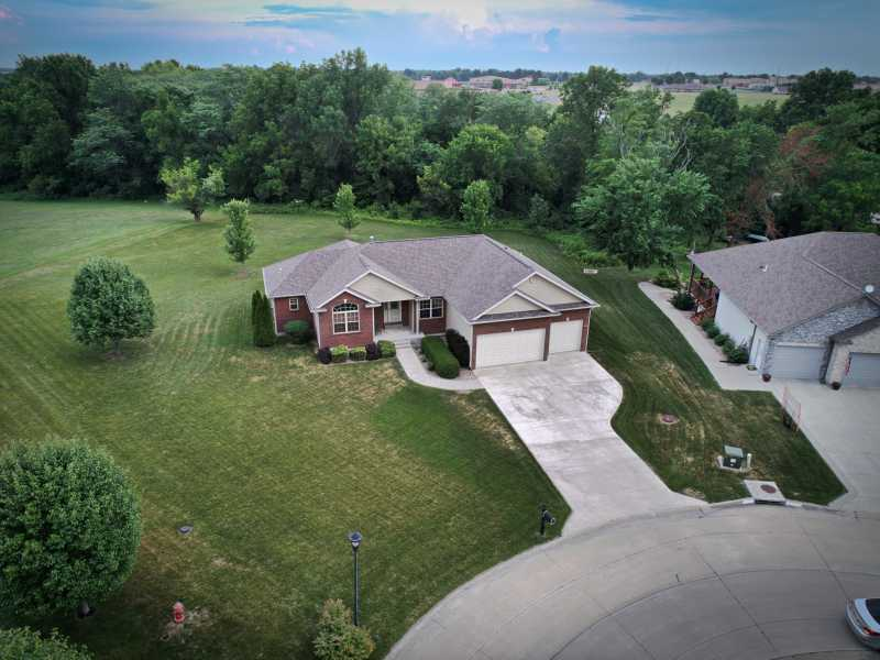 Drone Photo Columbia MO