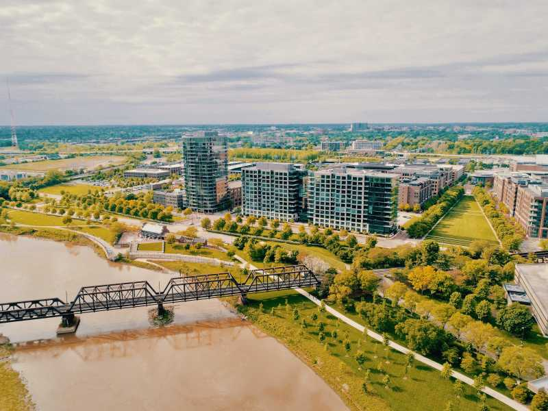 Drone Photo Columbus OH
