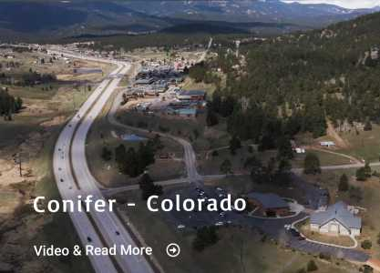 Drone Photo Conifer CO