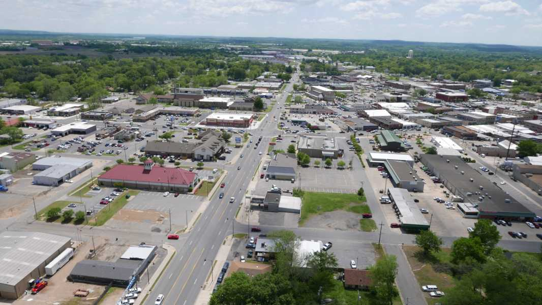 Drone Photo Conway AR