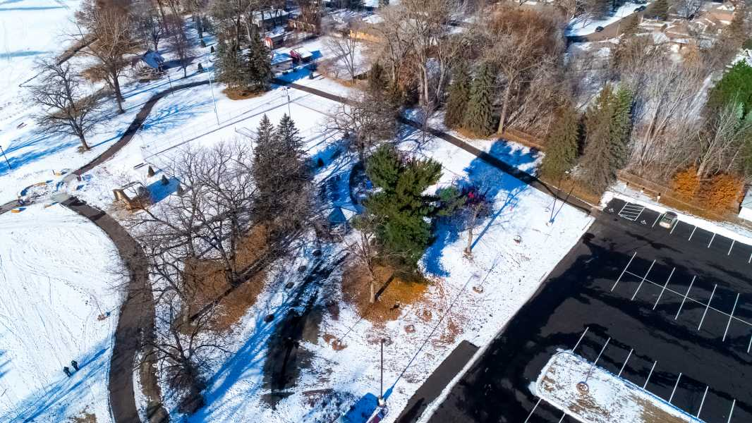 Drone Photo Coon Rapids MN