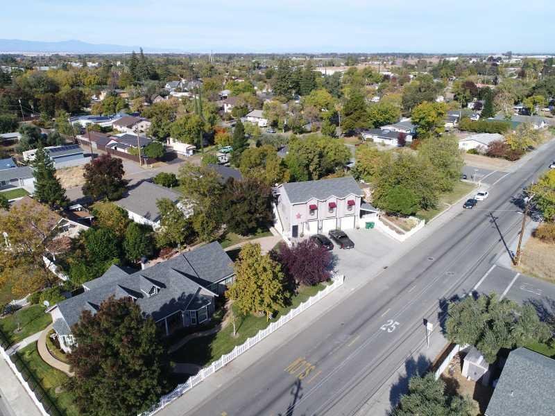 Drone Photo Corning CA