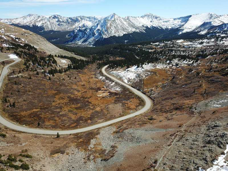 Drone Photo Cottonwood Pass Co