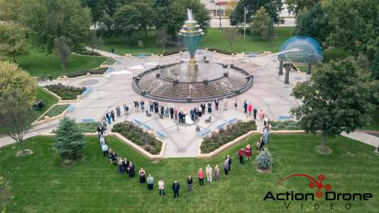 Drone Photo Council Bluffs IA