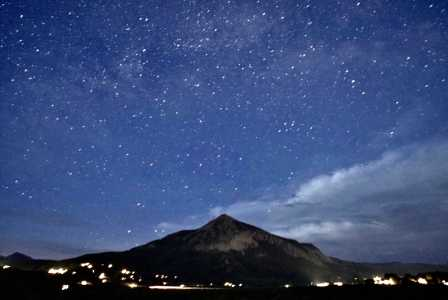 Drone Photo Crested Butte CO
