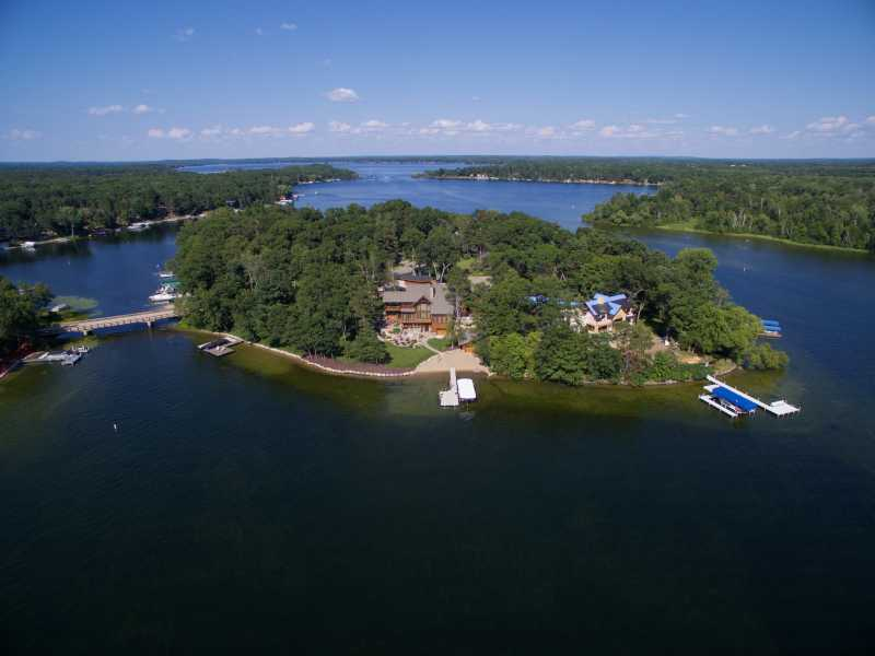 Drone Photo Crosslake MN
