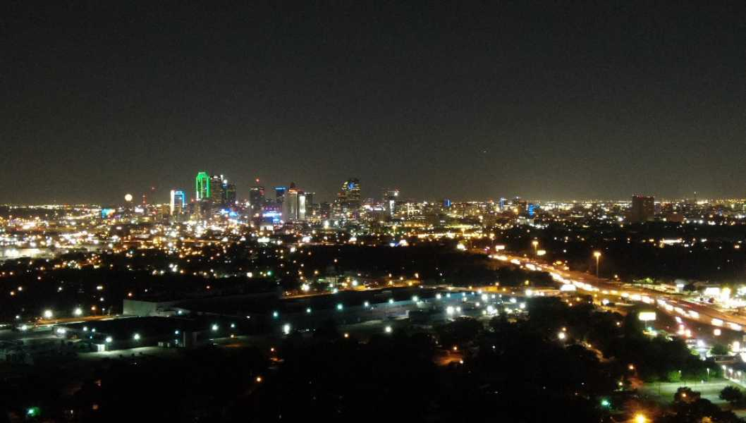 Drone Photo Dallas TX