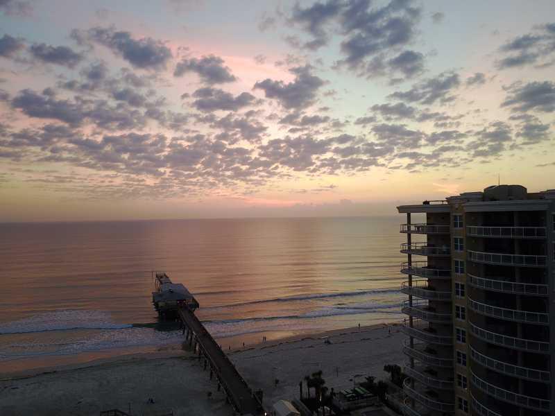 Drone Photo Daytona Beach Shores FL