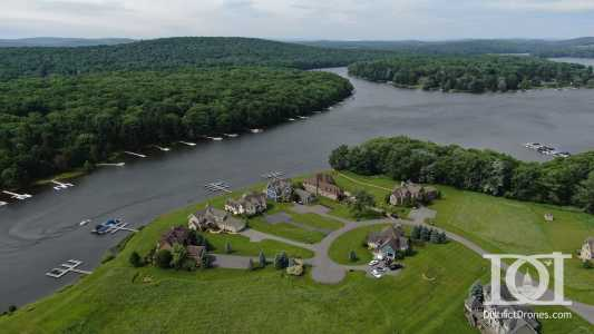 Drone Photo Deep Creek Lake Ma