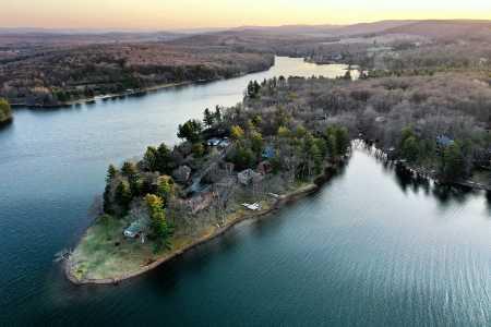 Drone Photo Deep Creek Lake Ma