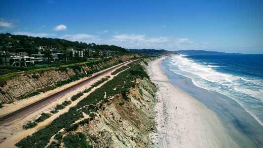 Drone Photo Del Mar CA