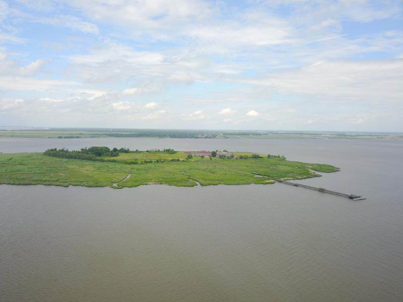 Drone Photo Delaware City DE