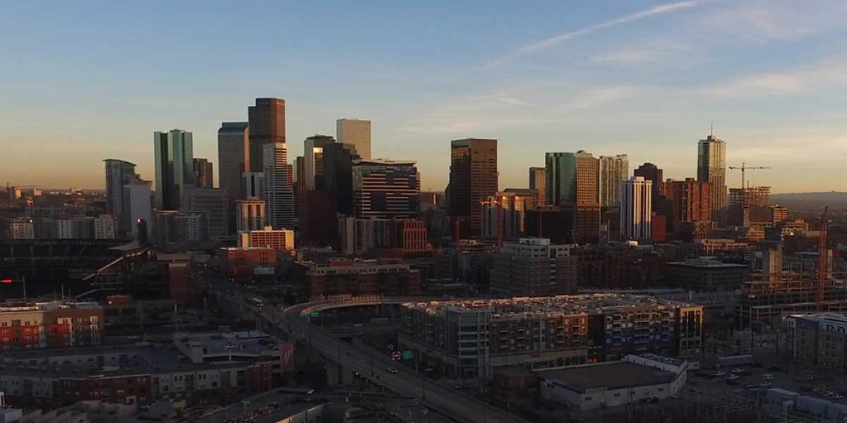 Drone Photo Denver CO