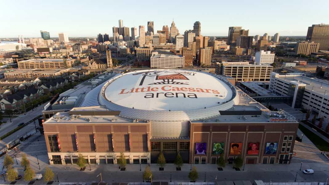 Drone Photo Detroit MI