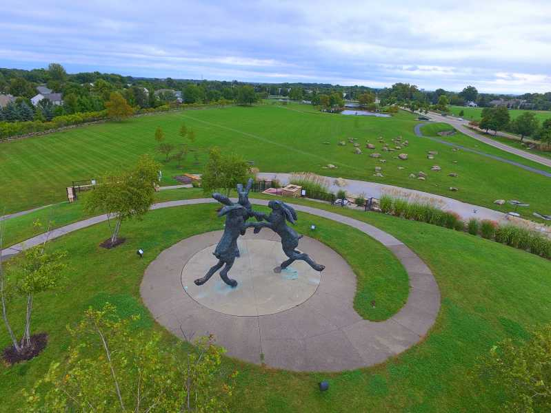 Drone Photo Dublin OH