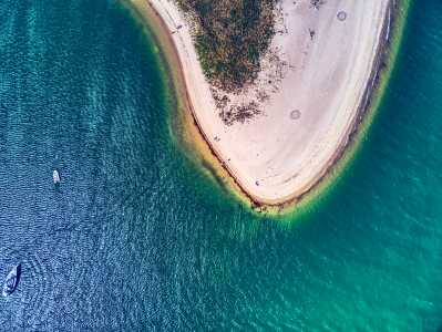 Drone Photo Edgartown MA