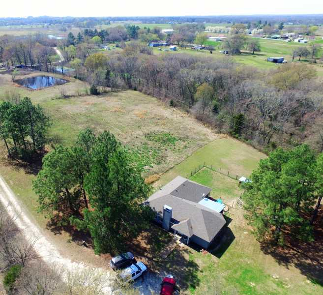 Drone Photo Edgewood TX