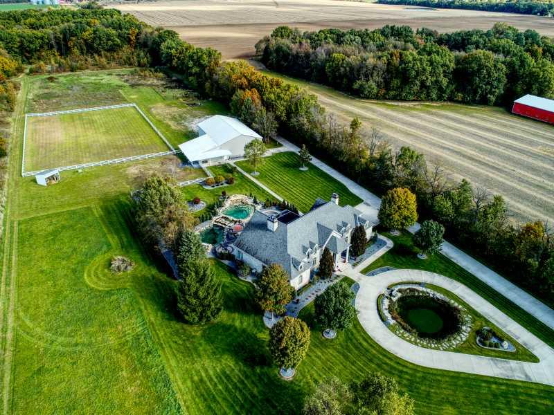 Drone Photo Edwardsburg MI